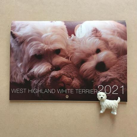 2021年ウェスティminiカレンダー