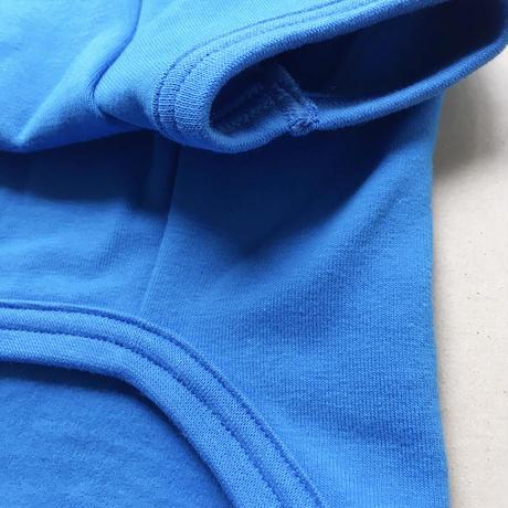ワンコTシャツBlue-Lサイズ