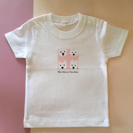 KidsTシャツ-ベーシックPink
