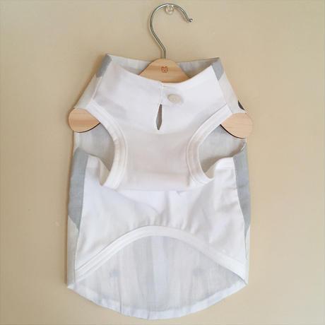 MonChien+オリジナルワンコ服 白ワンコベーシック