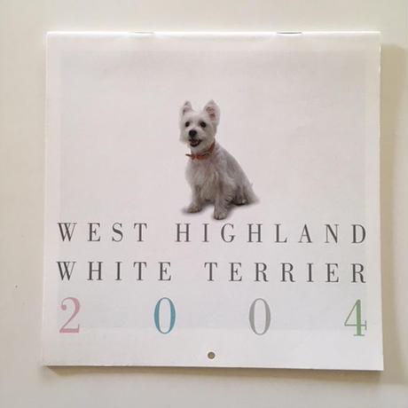 保存版ウェスティ・カレンダー2004