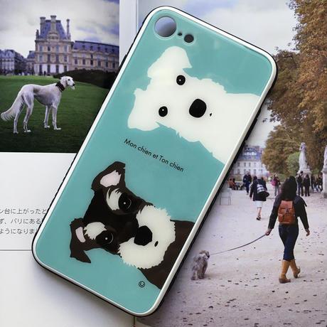 フレンズ iPhone用-強化ガラス・スマホケース