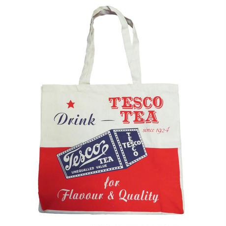 【再入荷】Tesco ティービンテージ ショッピングコットンバッグ