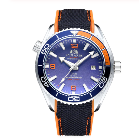 PAULAREIS WATCH /White Orange Blue