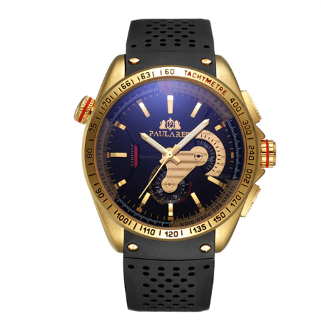 PAULAREIS WATCH /Gold Black