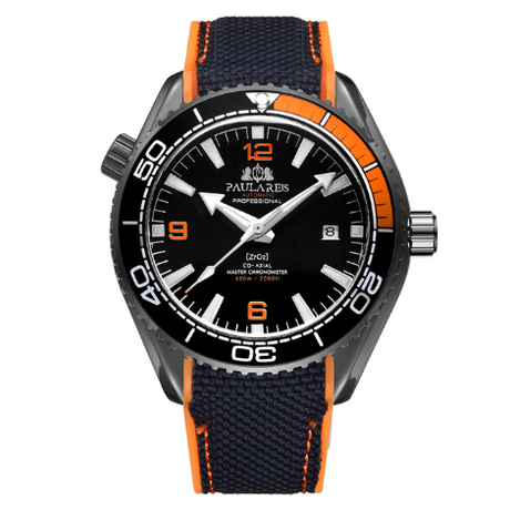 PAULAREIS WATCH /Black Orange Black