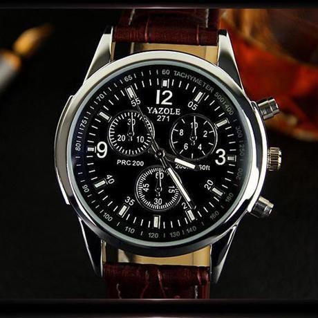 Yazole スポーツ男性腕時計 トップブランド 男性クォーツ腕時計