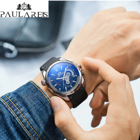 PAULAREIS WATCH /Silver Blue