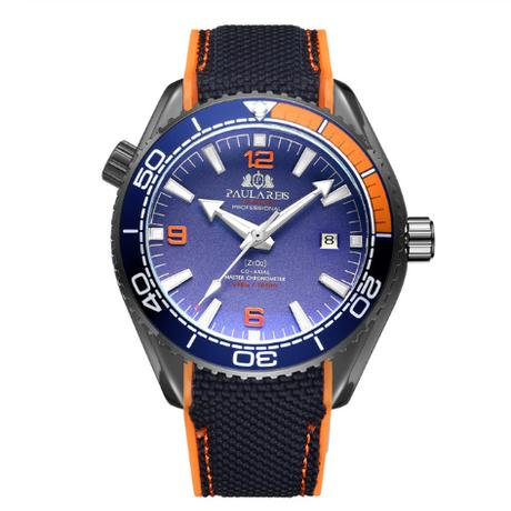 PAULAREIS WATCH /Black Orange Blu