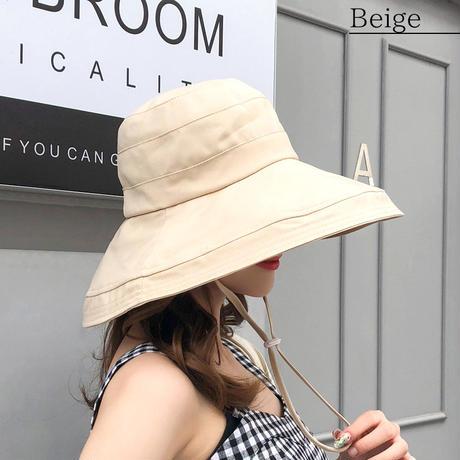 【ポスト便可】ハット/帽子/折り畳み/紫外線対策/UVカット/日よけ 19ss-053