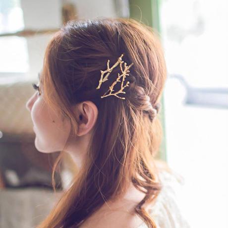 クリエイティブアントラー小枝ヘアピンファッション王女のヘアアクセサリー