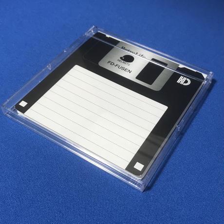 3.5インチフロッピー型付箋メモ