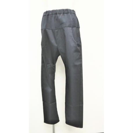 PT-3766 フルレングス ポケット配色イージーパンツ チノストレッチ黒(910)