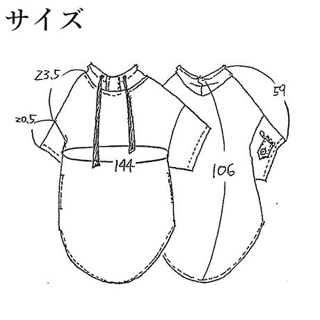 OP-3979 幻想柄6分袖パーカーワンピ モノトーン系 (910)