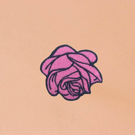 """ワッペン""""PINK ROSE"""""""