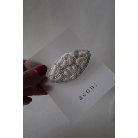 acou; フランスオートクチュール刺繍 marguetiteovale
