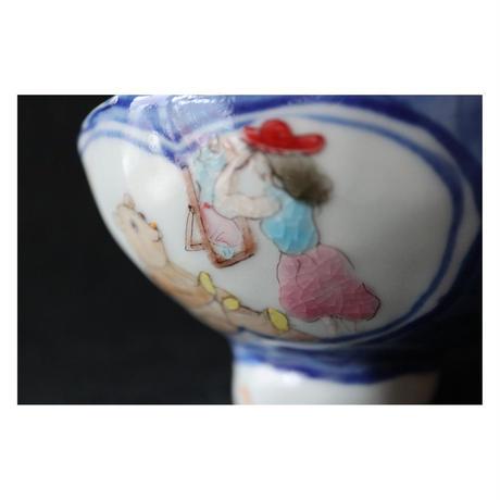 北井真衣 九谷焼 有田焼っぽい茶碗
