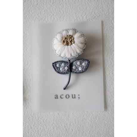 acou; フランスオートクチュール刺繍 kolme WH