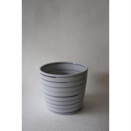 海野裕 九谷焼 蕎麦猪口 コマ
