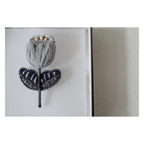 acou; フランスオートクチュール刺繍 calmo GY