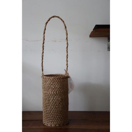 和島常男 あけびの蔓 皮むき蔓こだし編み バック