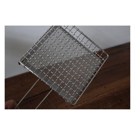 辻和金網 手付焼き網 小 正方形