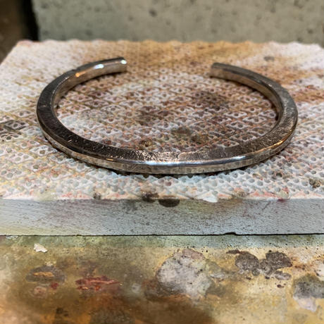 Forged bangle 【silver】