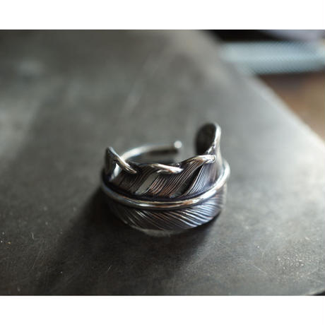 feather ring wide【cast】