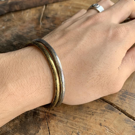 RB Forged bangle 【brass】