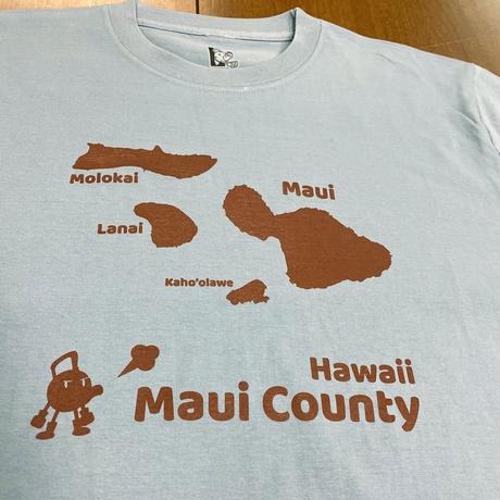 へなTシャツ マウイ島 ペールブルー