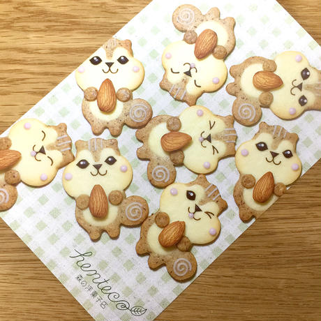 りす クッキー型