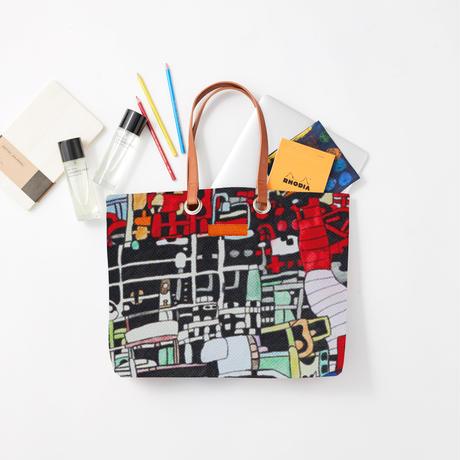 Masato Hanzawa「工場1」|Wall Art Tote Bag