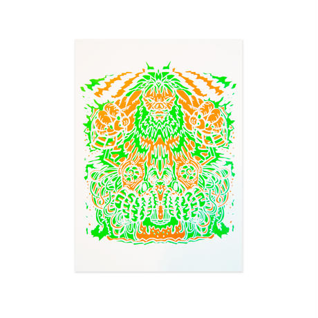 「Destruct Tapes #1」Silk Screen Print Poster