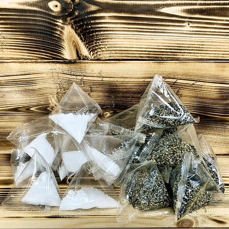 使い切り調味料2種セット(塩・コショウ 各5パック)×10セット