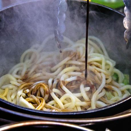 Heroオリジナル極太ダッチ麺ソース(焼きそばソース)6本セット