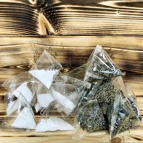 使い切り調味料2種セット(塩・コショウ 各5パック)