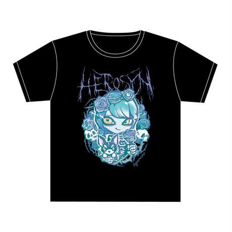 HEROSYN×HYPERCOREコラボTシャツ 蒼井叶