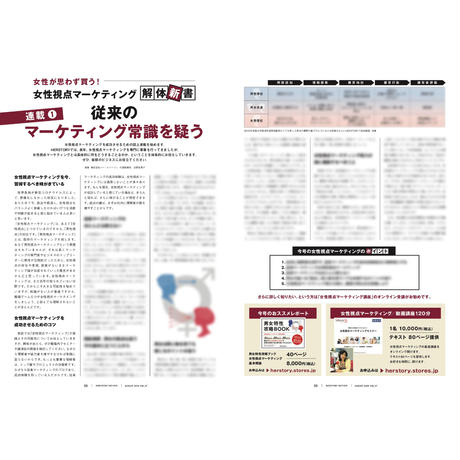 HERSTORY REVIEW 20年8月号(特集:働く女性withコロナ 抑えの夏、気分は外へ)