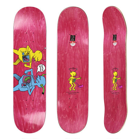DEAR, x POLAR SKATE CO.  DANE BRADY TV KID DECK  (8.125 x 32inch)