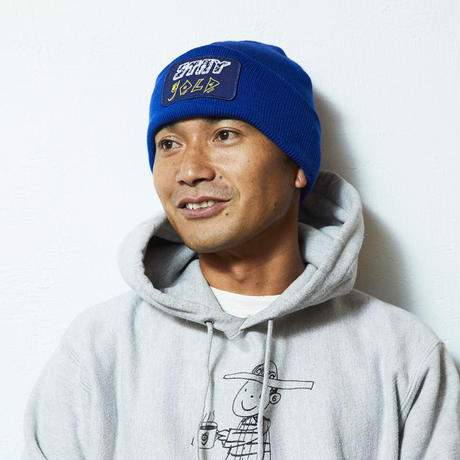 GOLD SCHOOL STAY GOLD BEANIE