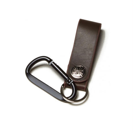 INDEPENDENT HOOK CROSS T/C KEYCHAIN