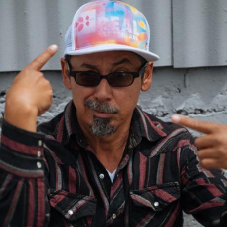REAL TOMMY GUERRERO ACRYLICS MESH CAP