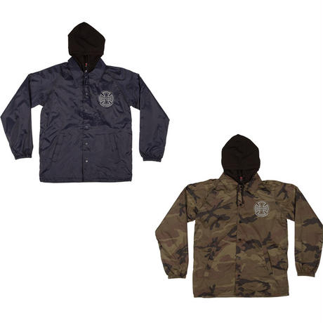 INDEPENDENT FOIL TRUCK CO.  HOODED COACH JACKET