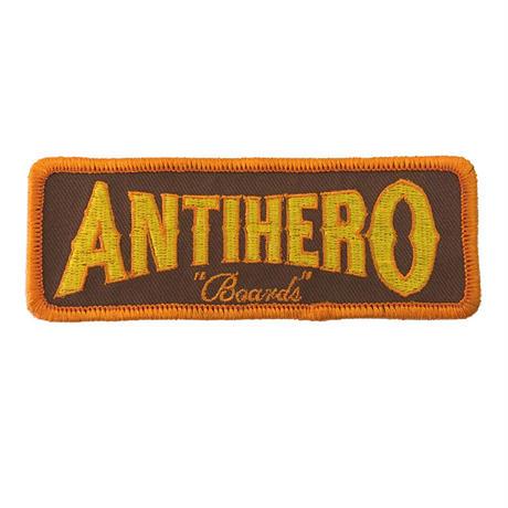ANTI HERO BOARDS PATCH