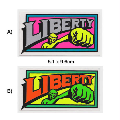 DEAR,  LIBERTY STICKER