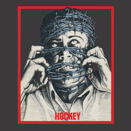 HOCKEY BARBWIRE PIGMENT DYED TEE