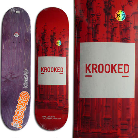 KROOKED MIKE ANDERSON KOLLECTION DECK (8.18 x 31.85inch)