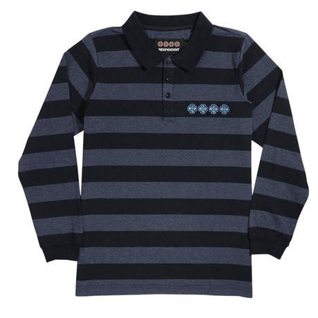 INDEPENDENT CHAIN CROSS L/S POLO SHIRTS