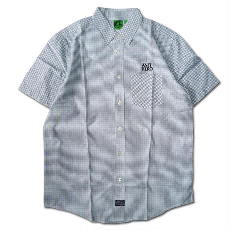 ANTI HERO BLACK HERO S/S WOVEN SHIRTS