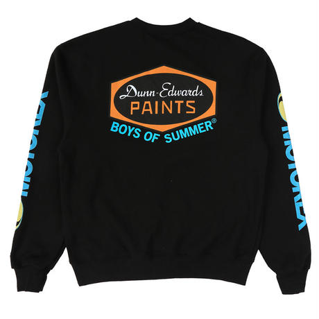 BOYS OF SUMMER EDWARDS CREWNECK SWEATSHIRT BLACK